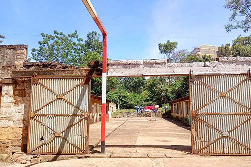Former colonial prison in Kenya