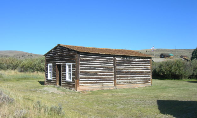 Old Sweetwater County Jail, South Pass City, Wyoming