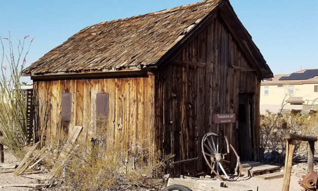 Old Tuscarora Jail, Henderson, Nevada