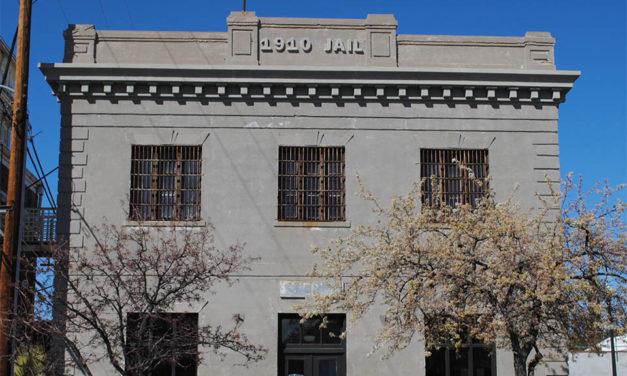 Historic 1910 Gila County Jail, Globe, Arizona